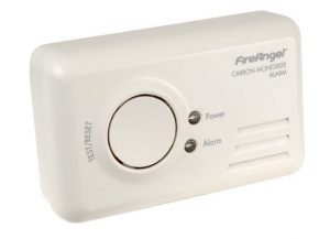 placing a carbon monoxide detector