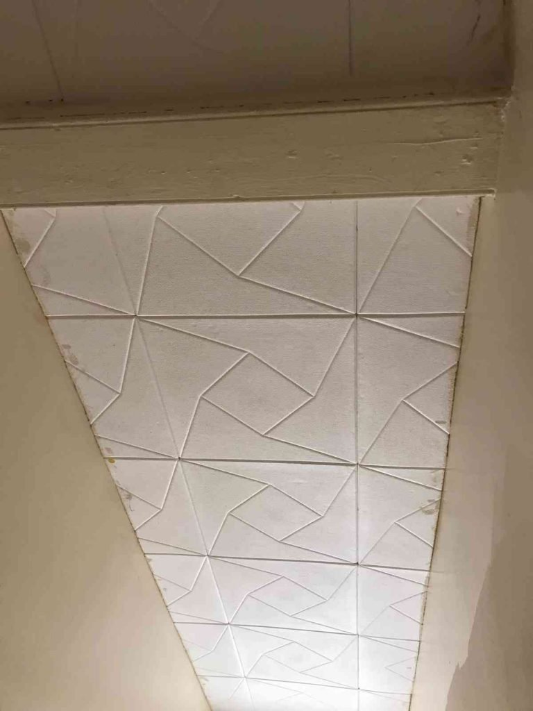 ceiling tiles made from polystyrene