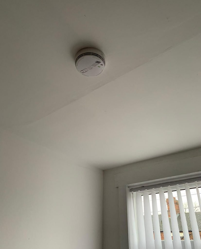 smoke detector placement