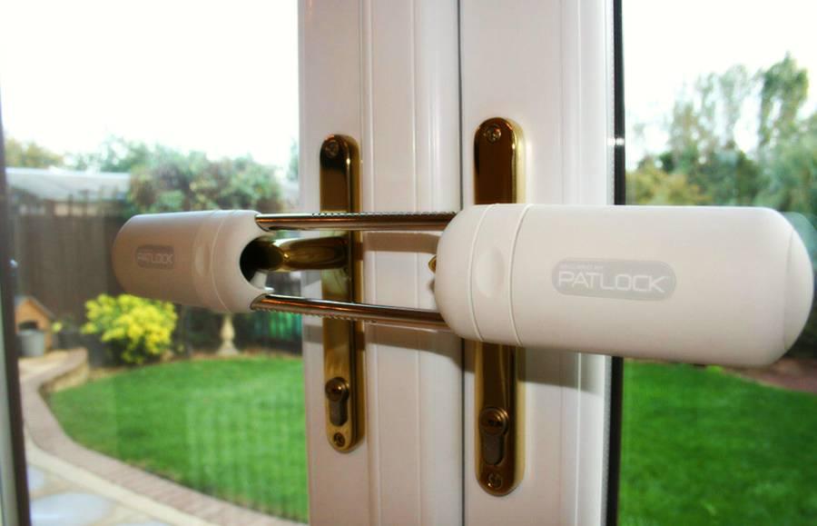 patlock on door handles from the inside