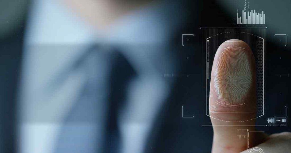 scan fingerprint biometric identity